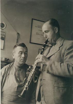 F. Arthur Uebel clarinet makers