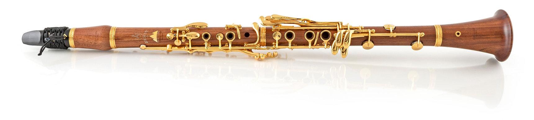 Uebel Zenit clarinet gold mopane