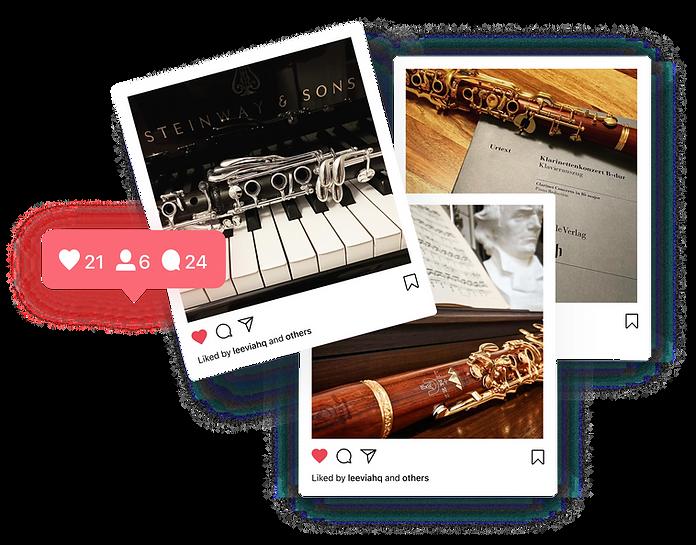 Uebel clarinet instagram