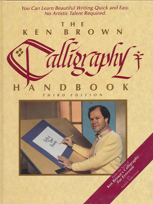 Ken Brown Calligraphy Handbook (hard cover)