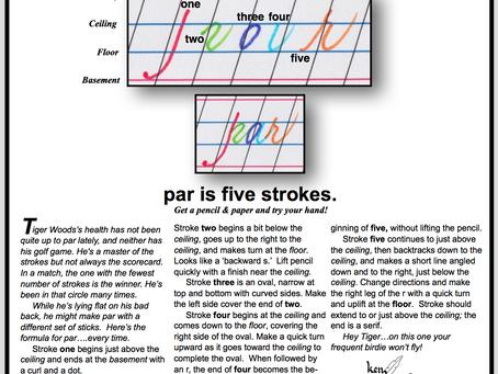 PAR IS FIVE STROKES