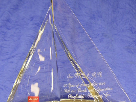 HAND-ENGRAVE A CRYSTAL SAILBOAT, BUT TURN OFF THE TV AND TURN ON YOUR CONCENTRATION!