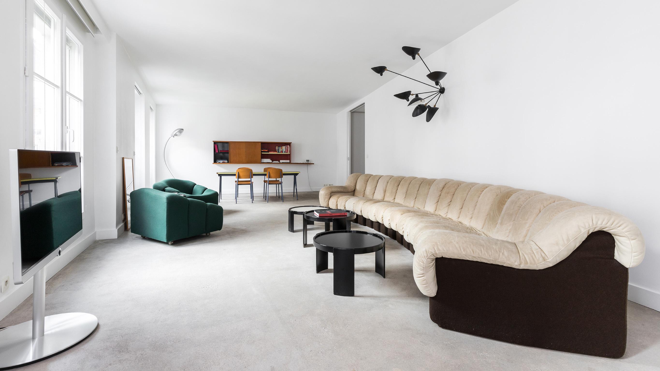 Salon design - Canapé Paulin