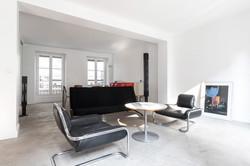 Séjour design en plein Paris