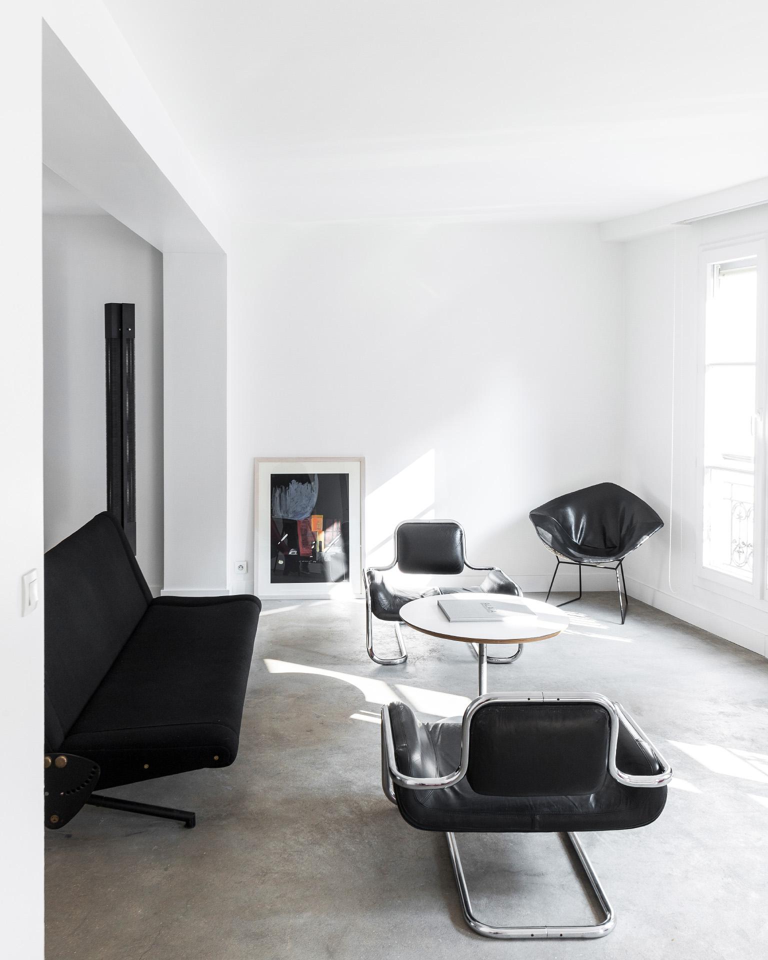 Salon design en plein coeur de Paris