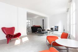 Appartement décoré par Alaïa