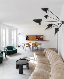 Salon design en plein Paris