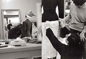 Travail sur mannequin - Maison Alaïa