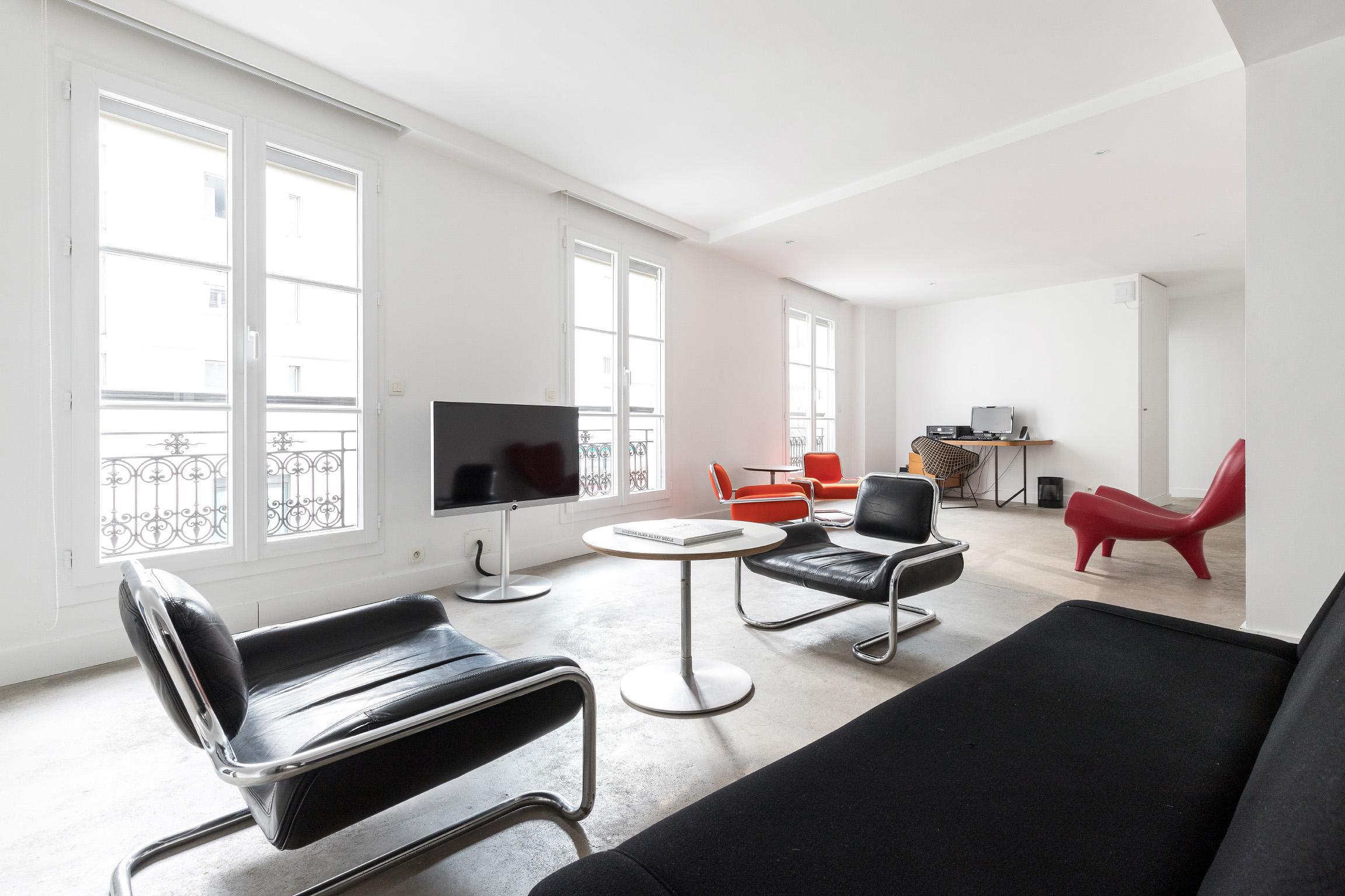 Appartement design en plein Marais