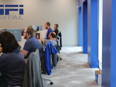New IT Workspace in St. Louis Office!