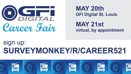 Career Fair in May!