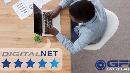 DigitalNET 97% Customer Satisfaction