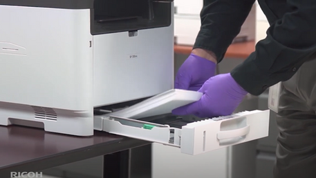 RICOH Copier Care Steps to Take When Returning to the Office