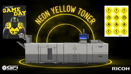 Brighten Up Your Prints with Neon Yellow Toner!