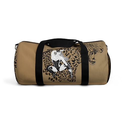 Phoenix the Jaguar Duffel Bag - tan