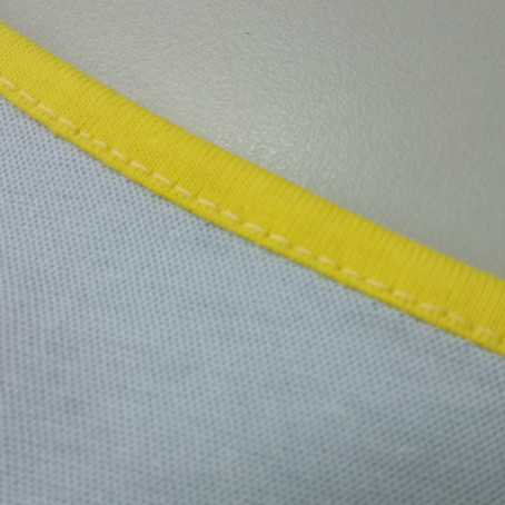 Sewing Tutorial: Knit Binding on Curved Edge