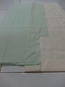 Cutting Diagonal left vent