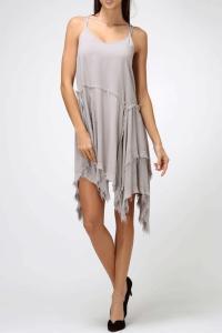 Exposed Seams Dress