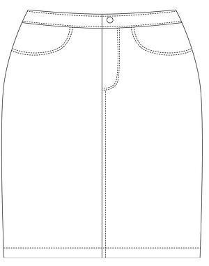 Digital Workshop: Draft & Sew Denim Skirt