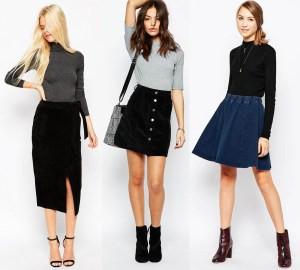 Drafting Skirt Variations Using Basic Skirt Block
