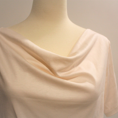 Drafting and Sew-Along: Cowl Neck Tee