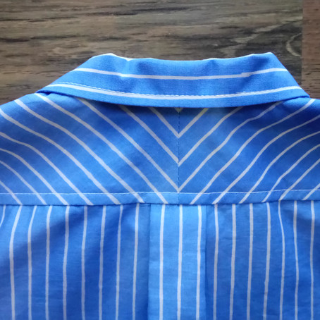 Sewing Tutorial: Making Pleats for Shirts