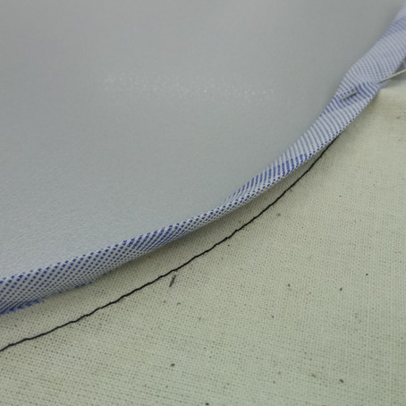 Sewing Tutorial: Bias Binding on Curved Edge (Sew in the Ditch)