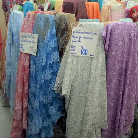 Fabric Shopping: Chiang Mai, Thailand