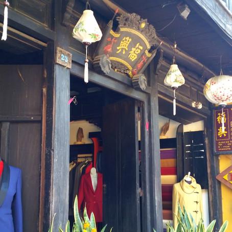 Fabric Shopping: Hoi An, Vietnam