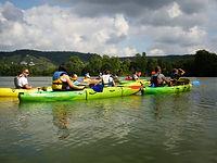 Randonnée canoë