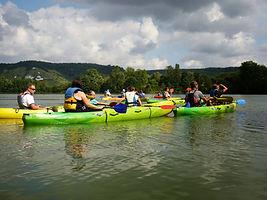 location canoe kayak à val de reuil en normandie