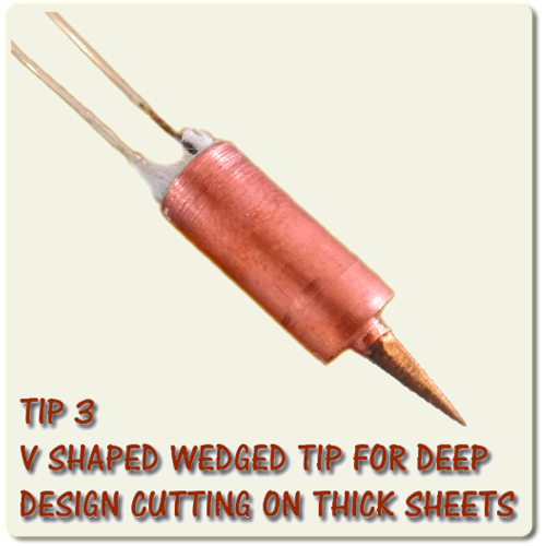 Cutart Stencil Cutting Replacement Tip 3