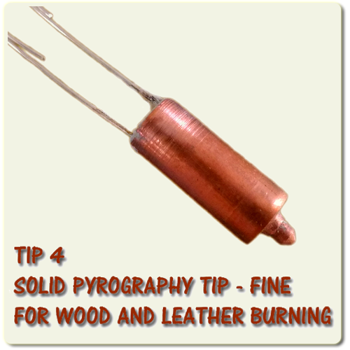 Fine Cutart Pyrography and Wood Burning - SOLID TIP