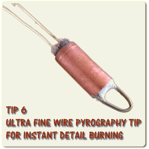 Cutart Ultra Fine Wire Tip For Wood and Leather burning