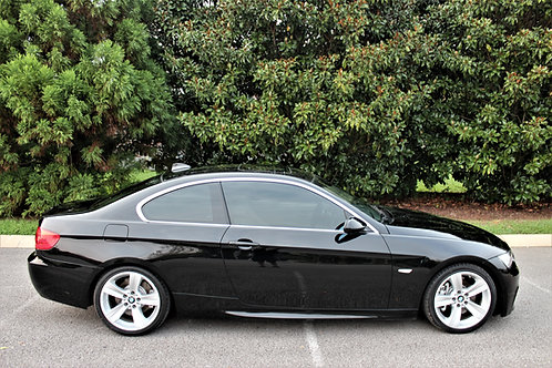 2007 BMW 335I -BLACK COUPE- LOTS OF UPGRADES! LOW MILES!