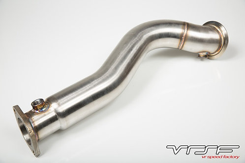 "VRSF 3"" Stainless Steel Catless Downpipes N54 E60 08-10 BMW 535i/535xi"