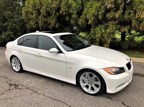 2007 BMW 335i White/Brown