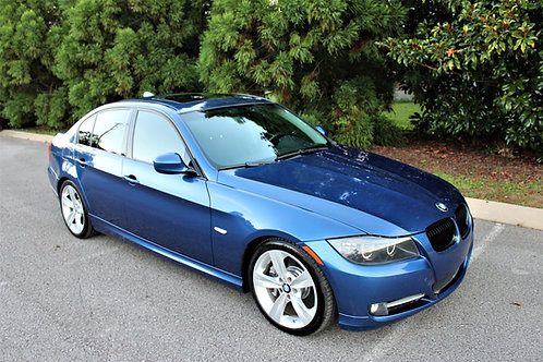 09 E90 Montego Blue 335i
