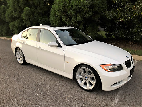 2007 BMW 335i- White- Sport Package