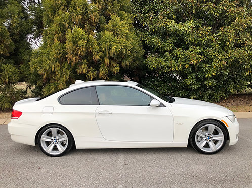 09 BMW 335i White Coupe-Twin Turbo