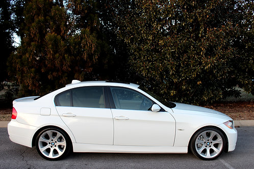 White 2008 BMW 335i-Sport Pkg-Heated Seats