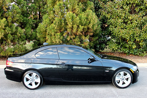 2010 BMW 335i Coupe-Black-Sport Package!