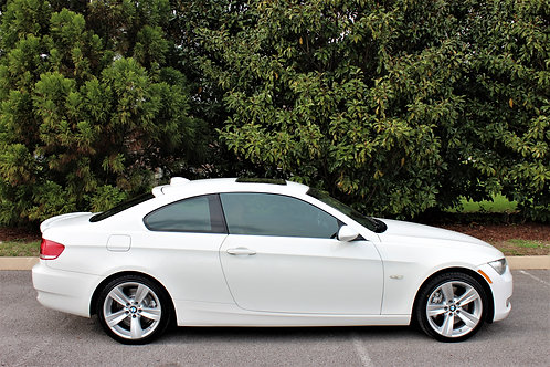 2008 BMW 335XI Coupe-White-Loaded!
