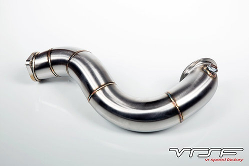"""VRSF 3"""" Cast Stainless Steel Catless Downpipes V2 N54 335 135"""
