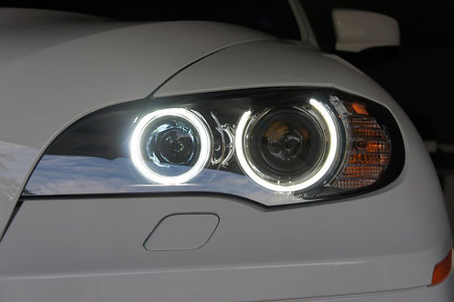 e92 BMW Angel Eyes DTEC H8 V12 Amazing White LED