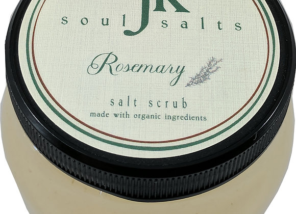 Rosemary Organic Dead Sea Salt Scrub