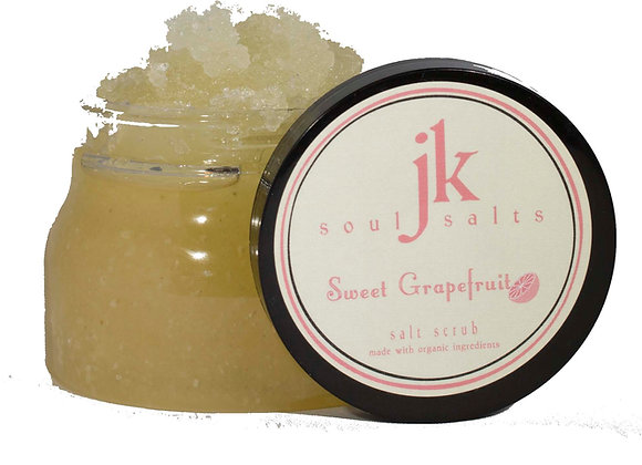 Lavender Organic Dead Sea Salt Scrub