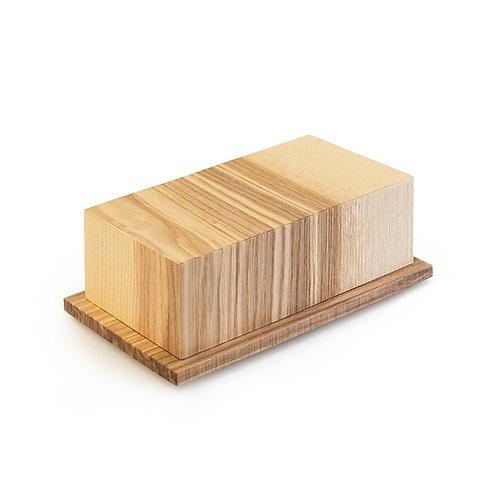 Butterbox aus Eichenholz