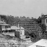 1909 Grafton Bridge under Construction