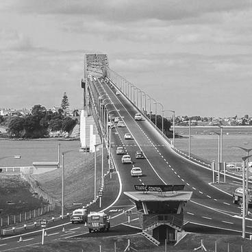 1964 Harbour Bridge View from South